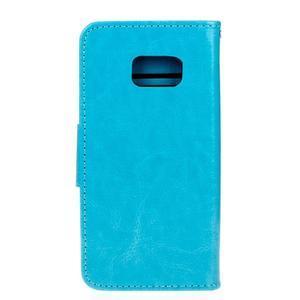 Stand peněženkové pouzdro na Samsung Galaxy S7 - modré - 2
