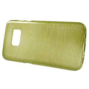 Brush gelový obal na mobil Samsung Galaxy S7 - zelený - 2