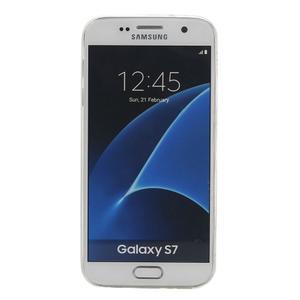 Pictu gelový obal na mobil Samsung Galaxy S7 - květiny - 2