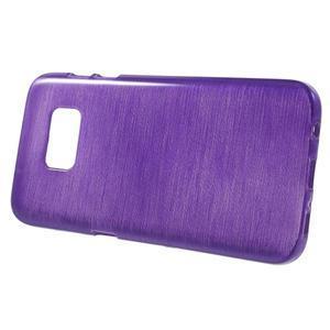 Brush gelový obal na mobil Samsung Galaxy S7 - fialový - 2