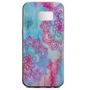 Backy gelový obal na Samsung Galaxy S7 edge - mandala - 2