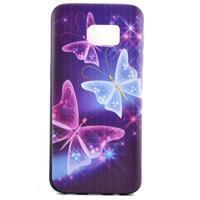 Backy gelový obal na Samsung Galaxy S7 edge - kouzelní motýlci - 2/6
