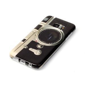 Softy gelový obal na Samsung Galaxy S7 edge - retro foťák - 2