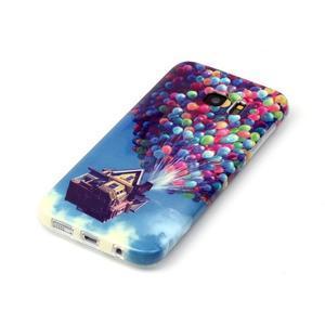 Softy gelový obal na Samsung Galaxy S7 edge - nafukovací balónky - 2
