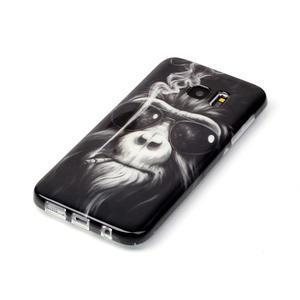 Softy gelový obal na Samsung Galaxy S7 edge - opičák - 2