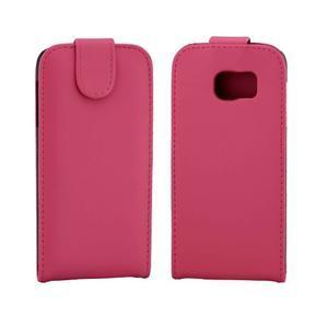 Flipové pouzdro na mobil Samsung Galaxy S7 edge - rose - 2