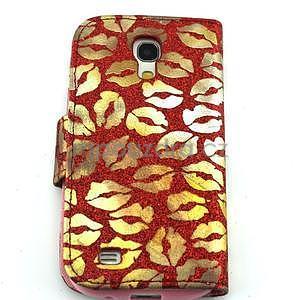 Pusinky peněženkové pouzdro na Samsung Galaxy S4 Mini - červené - 2