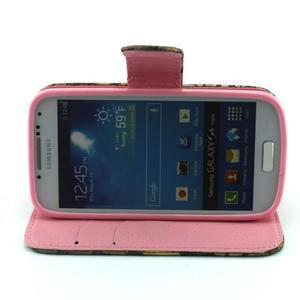 Pusinky peněženkové pouzdro na Samsung Galaxy S4 Mini - style - 2