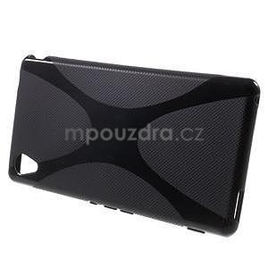 Černý gelový obal na Sony Xperia M4 Aqua - 2