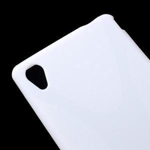 Bílý gelový obal na Sony Xperia M4 Aqua - 2