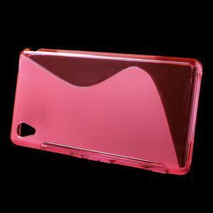 Rose s-line pružný obal na Sony Xperia M4 Aqua - 2