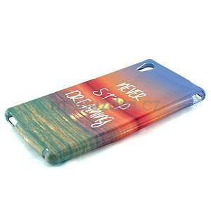 Gelový kryt na Sony Xperia M4 Aqua - snění - 2