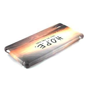 Gelový kryt na Sony Xperia M4 Aqua - H.O.P.E. - 2
