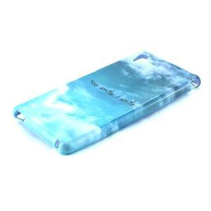 Gelový kryt na Sony Xperia M4 Aqua - úsměv - 2