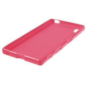 Gloss lesklý gelový obal na Sony Xperia Z5 - rose - 2