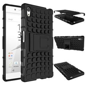 Outdoor odolný obal na Sony Xperia Z5 - černý - 2