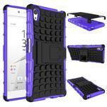 Outdoor odolný obal na Sony Xperia Z5 - fialový - 2/2