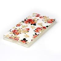 Softy gelový obal na mobil Sony Xperia Z5 - květiny - 2/3