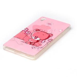 Softy gelový obal na mobil Sony Xperia Z5 - medvídek - 2