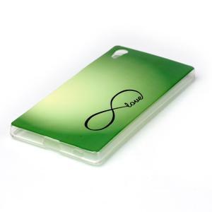 Softy gelový obal na mobil Sony Xperia Z5 - love - 2