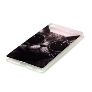 Softy gelový obal na mobil Sony Xperia Z5 - cool kočka - 2
