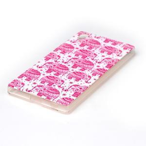 Softy gelový obal na mobil Sony Xperia Z5 - růžoví - 2