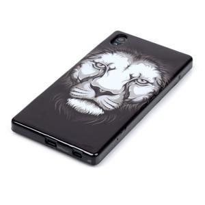 Blacky gelový obal na mobil Sony Xperia Z5 - lev - 2