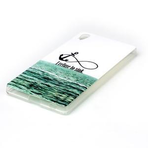 Softy gelový obal na mobil Sony Xperia Z5 - kotva - 2