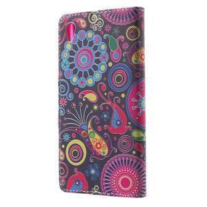 Lovely pouzdro na mobil Sony Xperia Z5 - barevné kruhy - 2