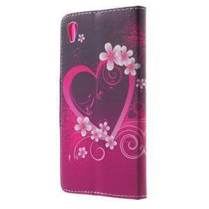 Lovely pouzdro na mobil Sony Xperia Z5 - srdce - 2