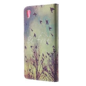 Lovely pouzdro na mobil Sony Xperia Z5 - ptáčci - 2