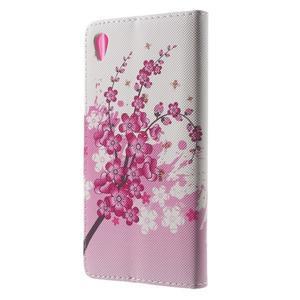 Lovely pouzdro na mobil Sony Xperia Z5 - kvetoucí větvička - 2