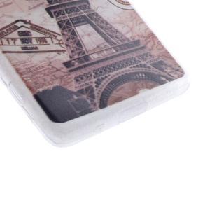 Gelový obal na mobil Sony Xperia Z5 Compact - Eiffelova věž - 2