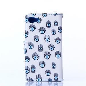 Sand pouzdro na mobil Sony Xperia Z5 Compact - modrá očka - 2