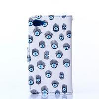 Sand pouzdro na mobil Sony Xperia Z5 Compact - modrá očka - 2/5
