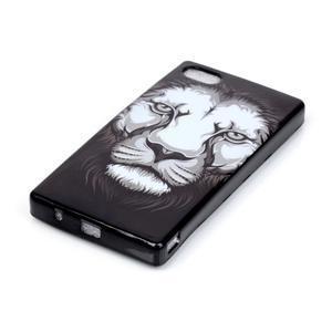 Softs gelový obal na Sony Xperia Z5 Compact - lev - 2