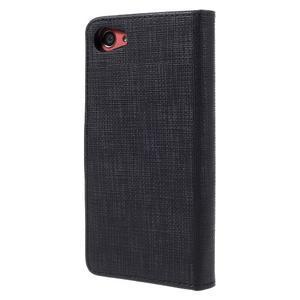 Grid peněženkové pouzdro na mobil Sony Xperia Z5 Compact - černé - 2