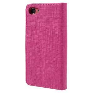 Grid peněženkové pouzdro na mobil Sony Xperia Z5 Compact - rose - 2