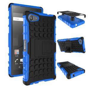 Outdoor odolný kryt na mobil Sony Xperia Z5 Compact - modrý - 2