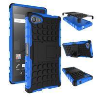 Outdoor odolný kryt na mobil Sony Xperia Z5 Compact - modrý - 2/2