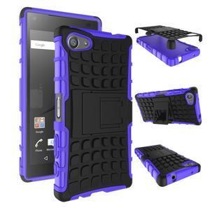 Outdoor odolný kryt na mobil Sony Xperia Z5 Compact - fialový - 2