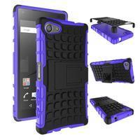 Outdoor odolný kryt na mobil Sony Xperia Z5 Compact - fialový - 2/2