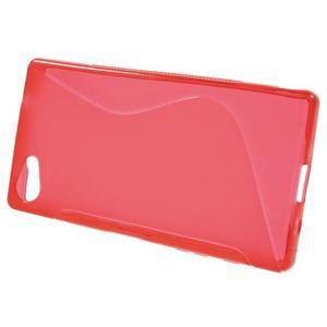 S-line gelový obal na Sony Xperia Z5 Compact - červený - 2