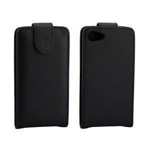Flipové pouzdro na Sony Xperia Z5 Compact - černé - 2