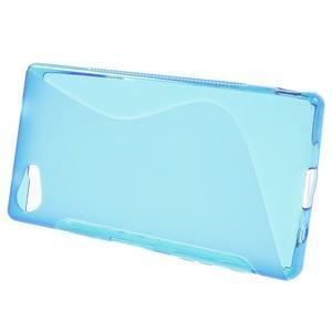 S-line gelový obal na Sony Xperia Z5 Compact - modrý - 2