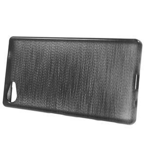 Brush gelový obal na Sony Xperia Z5 Compact - černý - 2