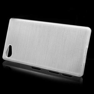 Brush gelový obal na Sony Xperia Z5 Compact - bílý - 2