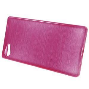 Brush gelový obal na Sony Xperia Z5 Compact - rose - 2
