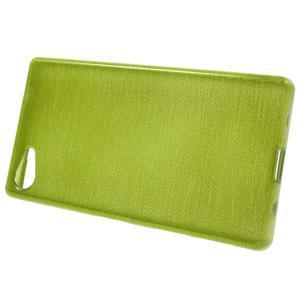 Brush gelový obal na Sony Xperia Z5 Compact - zelený - 2