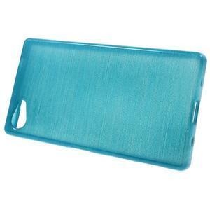 Brush gelový obal na Sony Xperia Z5 Compact - modrý - 2